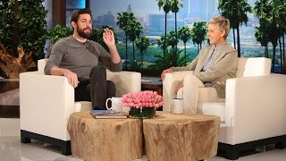 Download Lagu John Krasinski Talks Hanging with Leo Gratis Mp3 Pedia