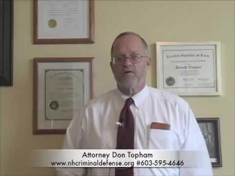 Nashua Nh Criminal Defense Lawyer - Don Topham