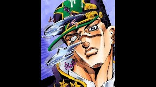 All of the JoJo openings but every 30 seconds a Stand's power goes into effect