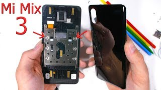 The Mi Mix 3 is cooler than you think... - Teardown