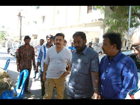 Film industry pays homage to director RC Sakthi   Kamal Haasan   Vijayakanth - BW