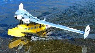 FUTURISTIC RC SEAPLANE WATERPLANE SPECTACULAR FLIGHT DEMONSTRATION