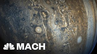 NASA Releases Stunning New Images Of Jupiter | Mach | NBC News