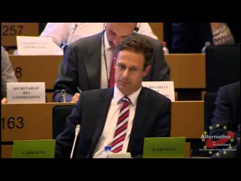 Marcus Pretzell (AfD) im IMCO: Fragen an Günther Oettinger, EU-Kommissar für Digitale Wirtschaft