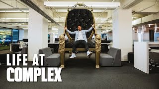 DJ Khaled Sent The Throne! | #LIFEATCOMPLEX