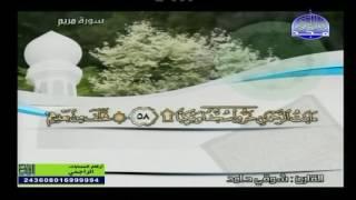 تلاوة مباركة لما تيسر من سورة مريم للقارئ الشيخ شوقي حامد شرف الدين