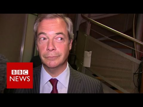 Nigel Farage says anger over migration could lead to violence - BBC News