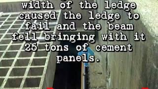 Montreal Ville-Marie Viger Tunnel light-abatement panels collapse.