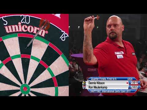 HappyBet International Darts Open - QF - Dennis Nilsson v Ron Meulenkamp