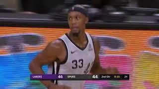 RESUMEN COMPLETO | Los Angeles Lakers vs San Antonio Spurs | Temporada NBA | 8-12-2018