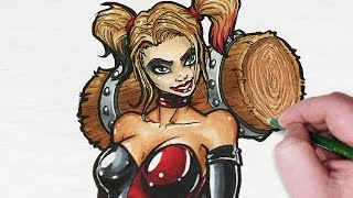 Let's Draw Harley Quinn!