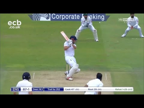 Chris Woakes 6-70, Alastair Cook 81, Yasir Shah 5-64 - Lord's highlights