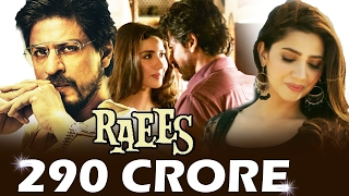 Download Shahrukh's RAEES CROSSES 290 CRORES WORLDWIDE - Box Office Collection 3Gp Mp4