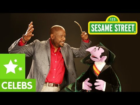 Sesame Street: Forest Whitaker & The Count Imagine