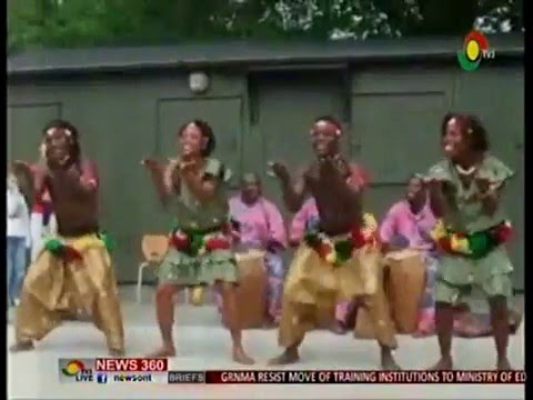 News360 - Entertainment - World Dance Day - Ghana dance ensemble trills commuters v
