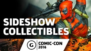Sideshow Collectibles Showcase at Comic-Con 2016