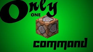 Only One Command: Biome Particle, Rain Cloud, and Enchanted! Minecraft 1.9