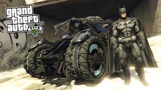 GTA 5 PC Mods - ULTRA REALISTIC BATMAN MOD! GTA 5 Batman Mod Gameplay! (GTA 5 Mod Gameplay)
