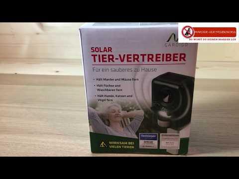 Solar Tier Vertreiber - Vorstellung - marder-vertreiben.org
