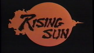 Rising Sun (1993) Trailer (VHS Capture)