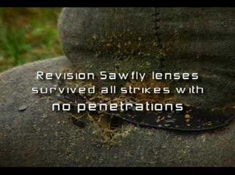 Shotgun Blast Test-- Revision Vs. Oakley Video