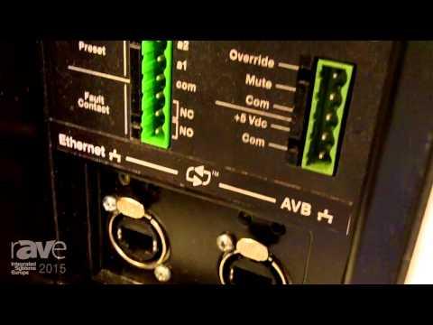 ISE 2015: AVnu Alliance Exhibits CAL 32 Loudspeaker Column