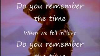 Remember The Time By Michael Jackson