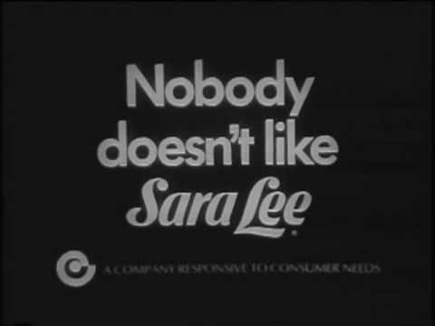 Sara Lee Commercials - Three of 'em!