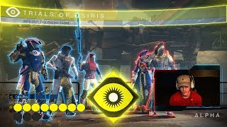 Destiny TRIALS 2V3 FLAWLESS COMPLETION! (Flawless 2 Vs 3 Trials Lighthouse)