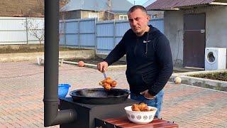KFC Chicken Russian STYLE. Куриные НОЖКИ в Кавказском СТИЛЕ!! ENG SUB.