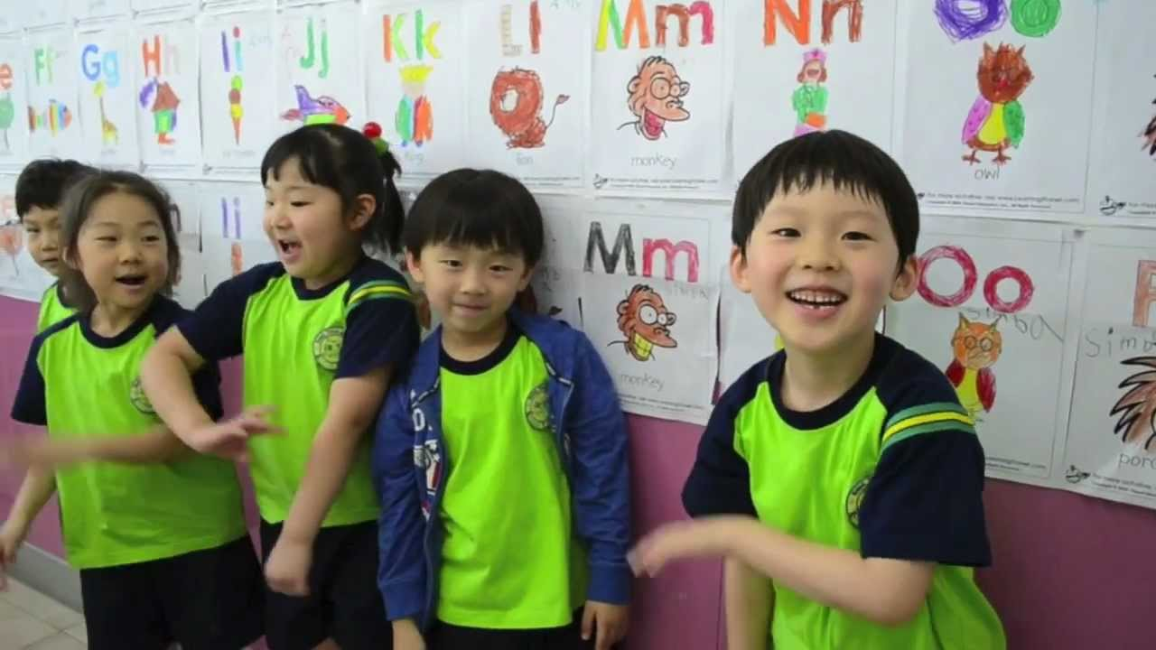 Kindergarten Calendar S S : Priscilla s korean kindergarten class youtube