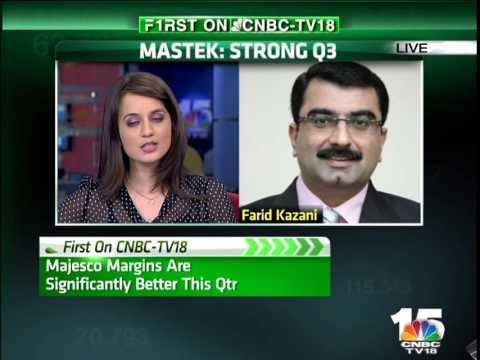 Closing Bell - MASTEK: Strong Q3 - Farid Kazani, Mastek - Jan 22nd 2015