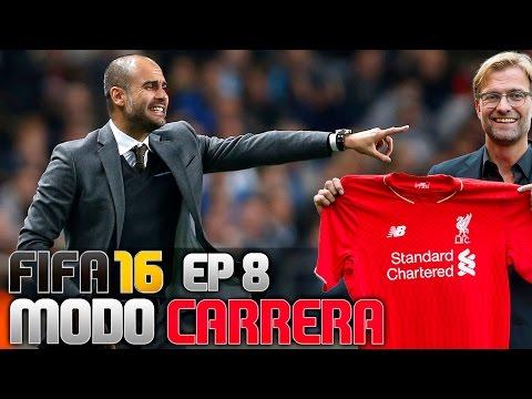 FIFA 16 Modo Carrera Liverpool: GUARDIOLA EN LA PREMIER #8