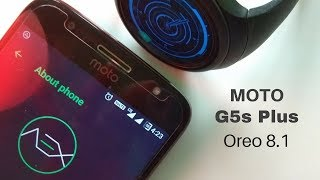 Moto G5s Plus with Oreo 8.1 Aosp-Extended ROM - It's Amazing | Hindi