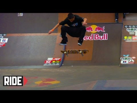 Tampa Pro Skateboarding Contest 2010: Qualifying Heats