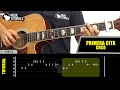 Como tocar Primera Cita de CNCO en Guitarra  Tutorial COMPLETO + PDF GRATIS -