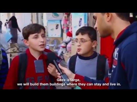 1 million Syrian refugees arriving at Gaza