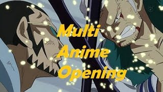 Multi Anime Opening Hands Up