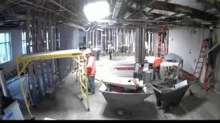 Monteith Construction - Au Bon Pain Cafe Timelapse