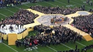 Halftime show, Super Bowl 50: Coldplay, Bruno Mars, and Beyonce