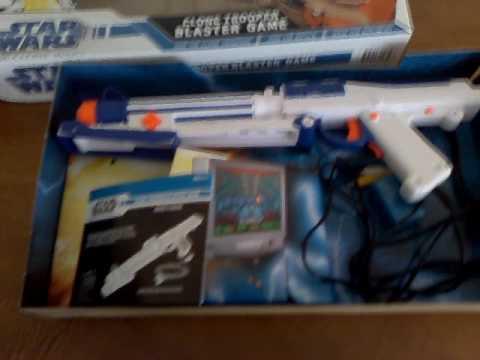 Star Wars Clone Trooper Blaster Plug n Play game
