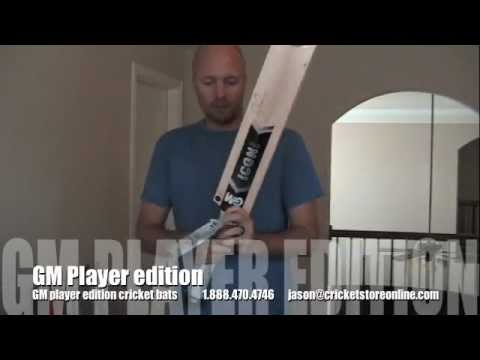 2012 GM icon player edition cricket bats jonathan trott and ross taylor