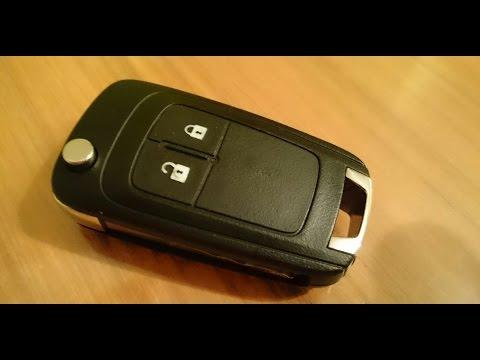 Opel Vauxhall replace battery remote key fob / Schlüssel Fernbedienung Batterie wechseln