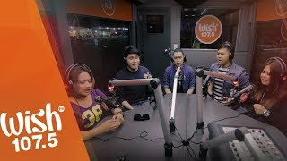 """5thGen covers """"Anak"""" (Freddie Aguilar) LIVE on Wish 107.5 Bus"""