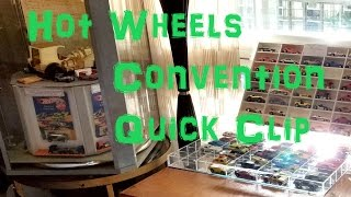 Hot Wheels Convention Quick Clip – A Bit of Activity! - Video No.156 - October 5th, 2016