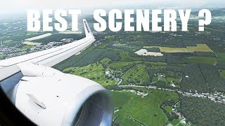 X-Plane 11 4K | Realistic RYANAIR 737 landing in Gatwick | ORBX for X-Plane!