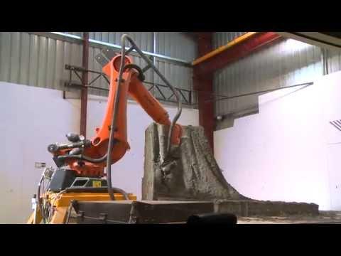 KUKA Robots shape Monument Park in Melbourne, Australia