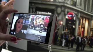 Hands on with the HTC Desire Eye and Eye Experience Software
