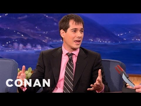 Joel Stein: I'm A Gay Man Trapped In A Straight Body - CONAN on TBS