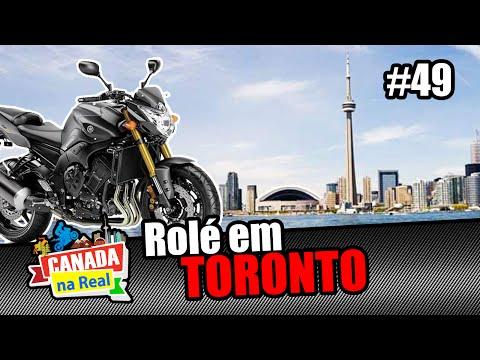 Rolé em Toronto!!!   CANADA NA REAL